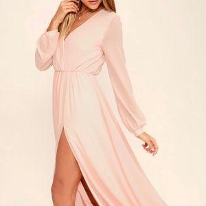 Lulu's Blush Pink Dress
